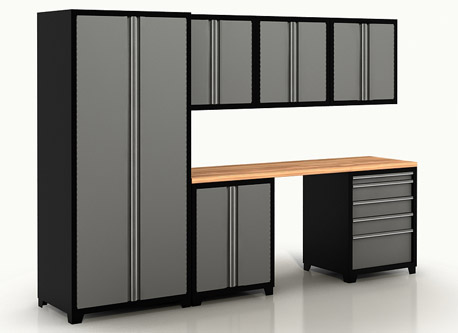 Metal Cabinets - Garage Metal Cabinets, New Age Cabinets Houston, Dallas, Fort