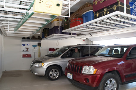 Garage Overhead Ceiling Storage